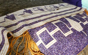 The George Washington Belt, the Two Row Wampum, and the Hiawatha Belt