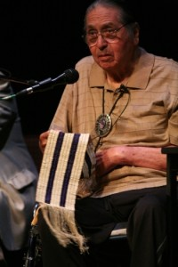 Onondaga Nation Chief Irving Powless Jr. and the Two Row Wampum Belt