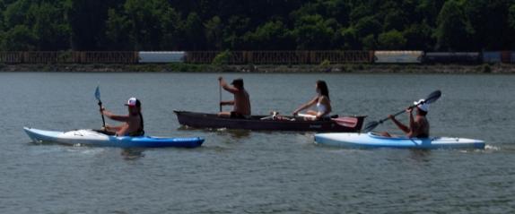 kayaks & canoe
