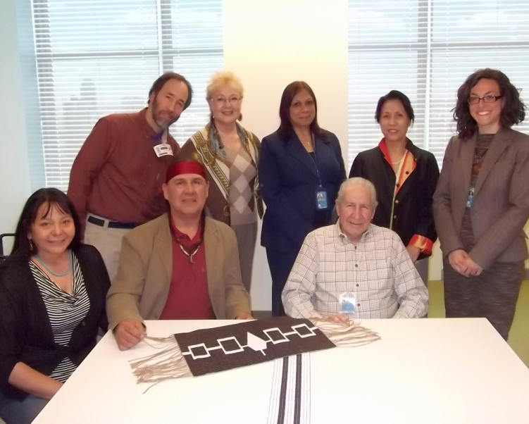 Two Row Wampum organizers met with the UN Permanent Secretariat on Indigenous Issues on April 2.