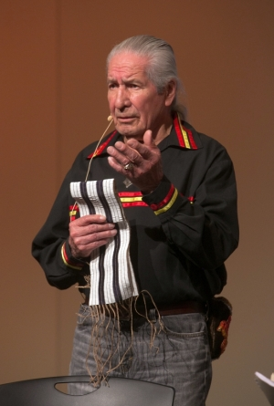 Oren Lyons speaking at National Museum of the American Indian