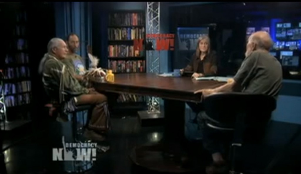 Democracy Now screenshot