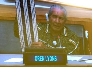 Oren at UN